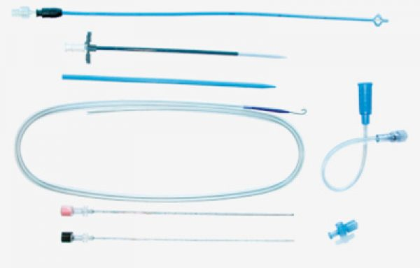 Kolibri® Sets with Malécot Catheter